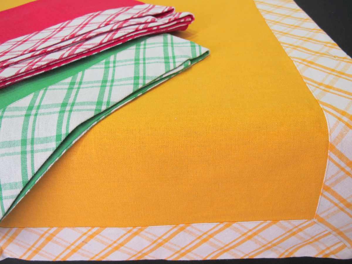 Mantel de Cocina Algodón Colores Lisos